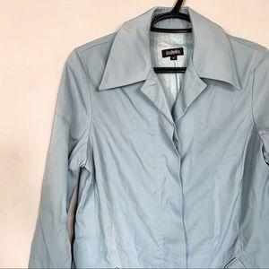 Talula • Baby Blue Trench Coat